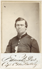 Edwin Dow of the 6th Maine Battery (Maine State Archivs).