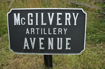 McGilvery got an avenue named in his honor at Gettysburg (Tom Huntington photo).