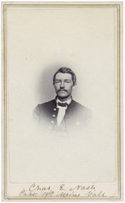 Charles E. Nash of the 19th Maine (Maine State Archies).