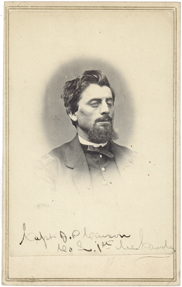Captain John P. Johnson of the 1st Maine Cavalry served as an aide to General John F. Reynolds (Maine State Archives).