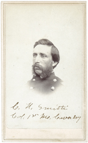 Lt. Col. Charles Smith took command of the regiment after Douty's death.
