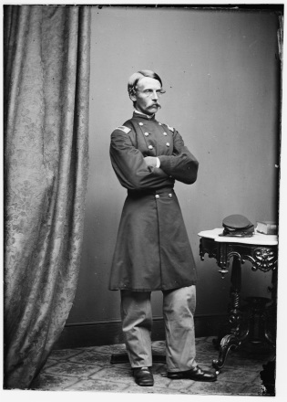 Col. Francis Heath of the 19th Maine (Library of Congress).