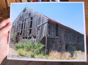 The barn as it appeared before the restoration (Tom Huntington photo).